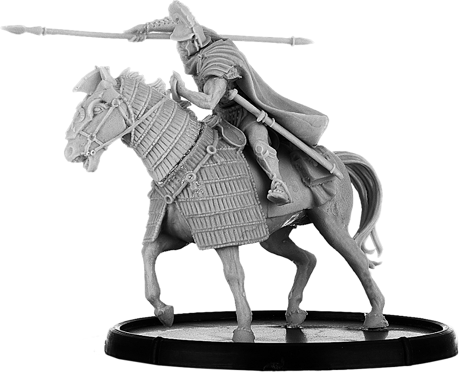 Equitus Durio, Centurion on Horse