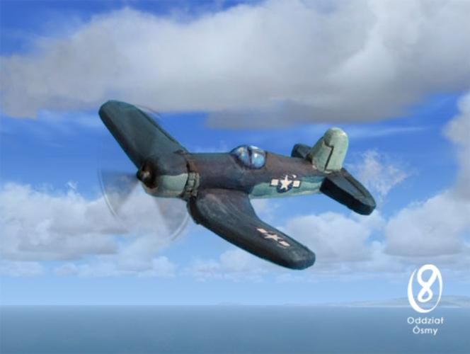 F4U-1A Corsair (8 pcs) Famous US fighter