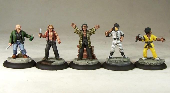 Image result for the warriors boppers miniatures