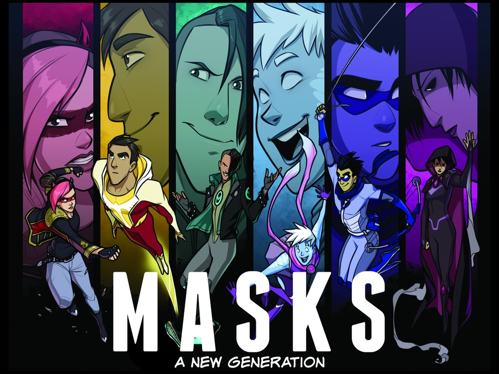 Masks A New Generation Super Hero Rpg On Kickstarter