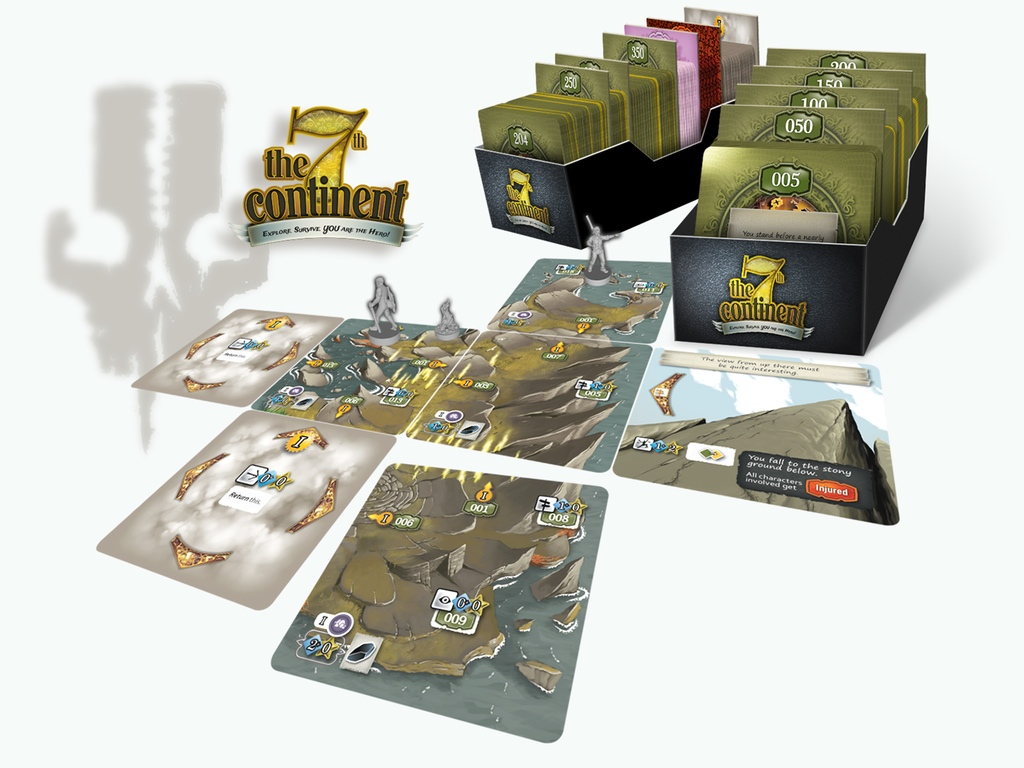 The 7th Continent Board Game Up On Kickstarter | Tabletop Gaming News
