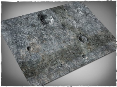 city ruins gaming mat