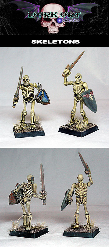 skeletons-resin-painted