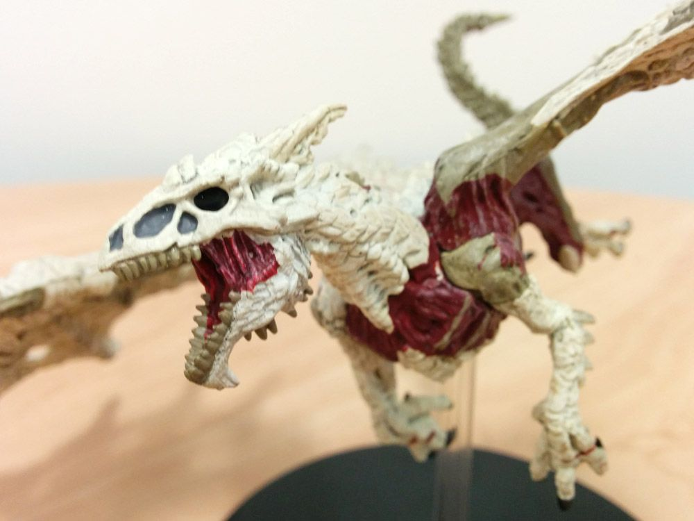 13-Dungeons-and-Dragons-Miniatures-White-Dracolich-Review-Rage-of-Demons-DD