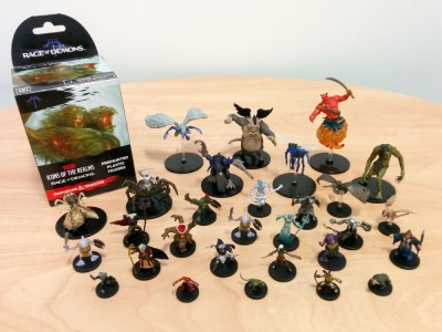 DnD Miniatures Rage of Demons Booster Review