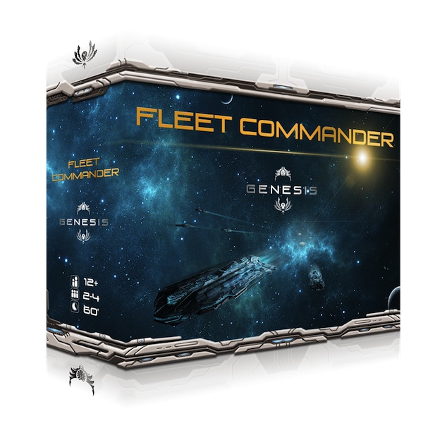 Fleet Commander Genesis box art