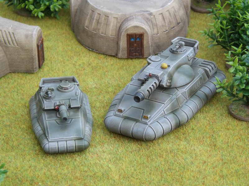 Alaudae Legion Tanks