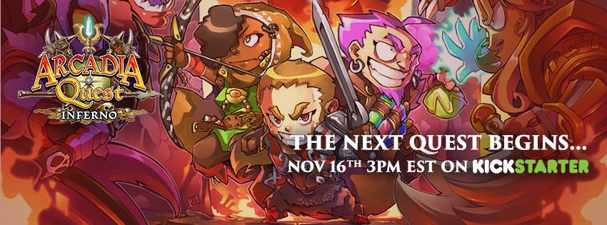 Arcadia Quest Inferno Launch