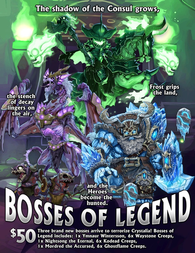 Bosses of Legend