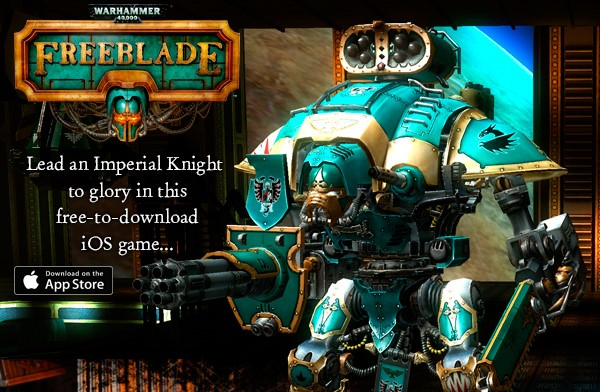 warhammer 40k freeblade a new ios game from pixel toys and games