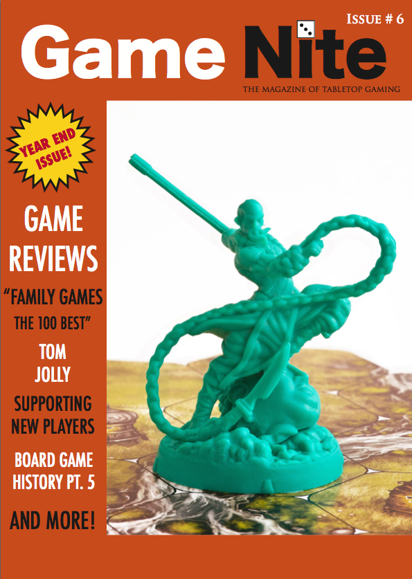 Game Nite Issue 6 cover