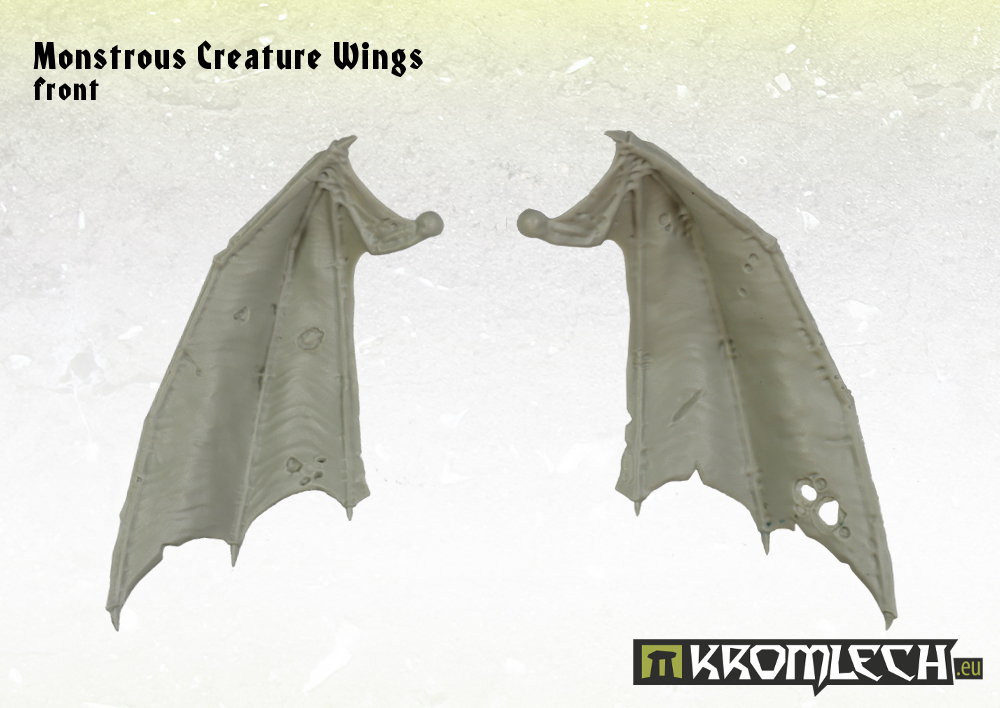 KRCB142 Monstrous Creature Wings wings_front