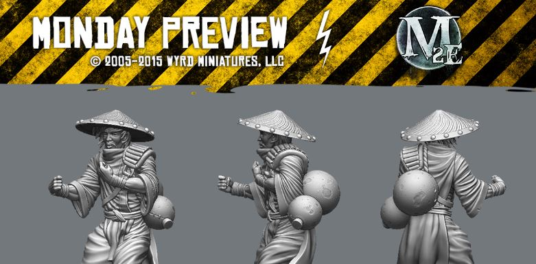 Wyrd Monday Preview - Fermented River Monks - Tabletop
