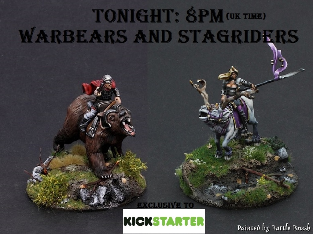 Warbears and Stagriders