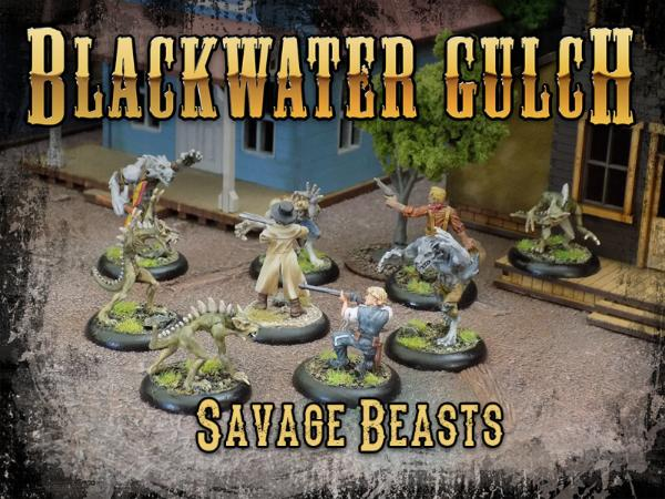 Blackwater Gulch Savage Beasts