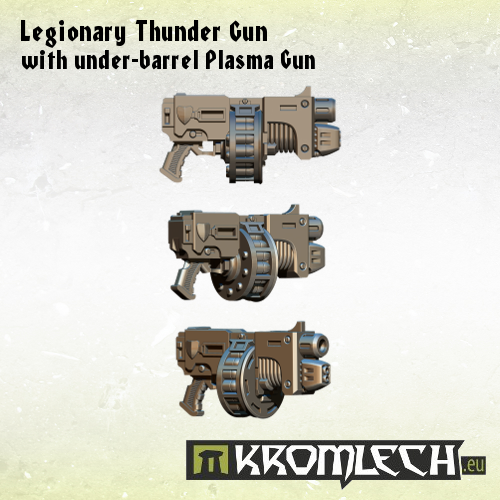 Legionary Thunder Gun with under-barrel Plasma Gun2