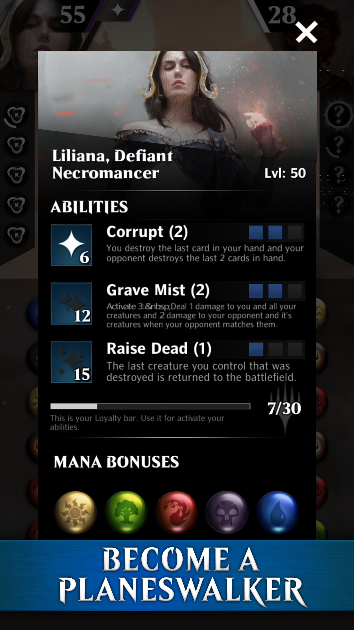 MTGPQ Screenshot_Become a Planeswalker