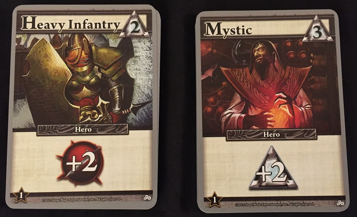 Mystic and Heavy Infantry