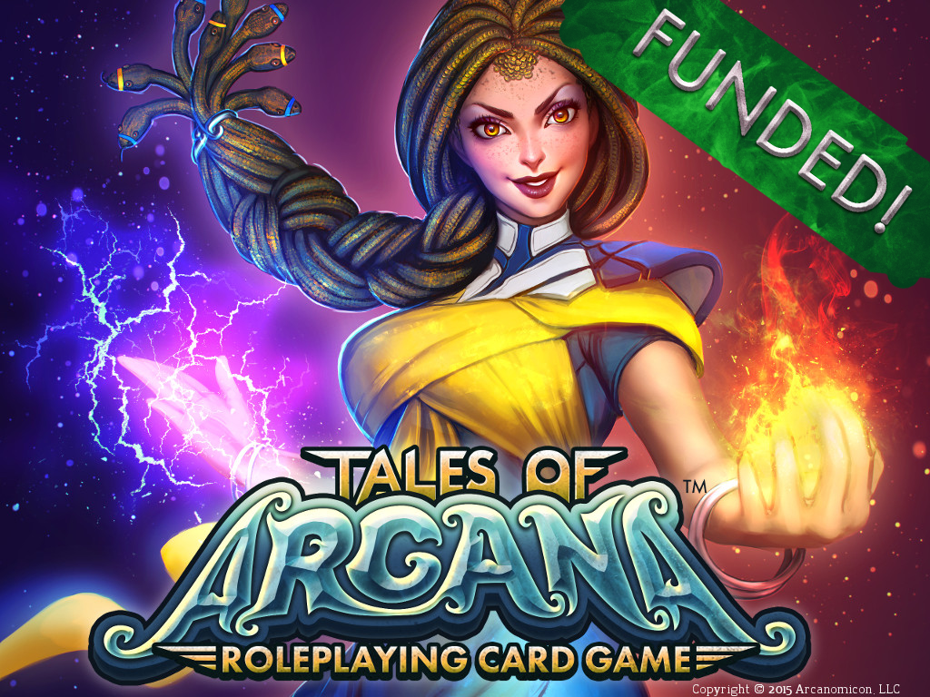 Tales of Arcana Funded