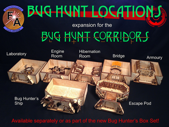 Bug Hunt Locations