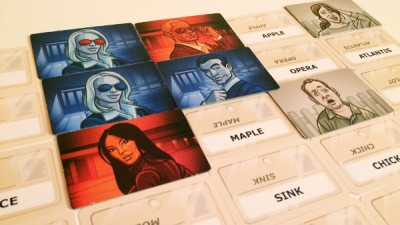 Codenames board game review header
