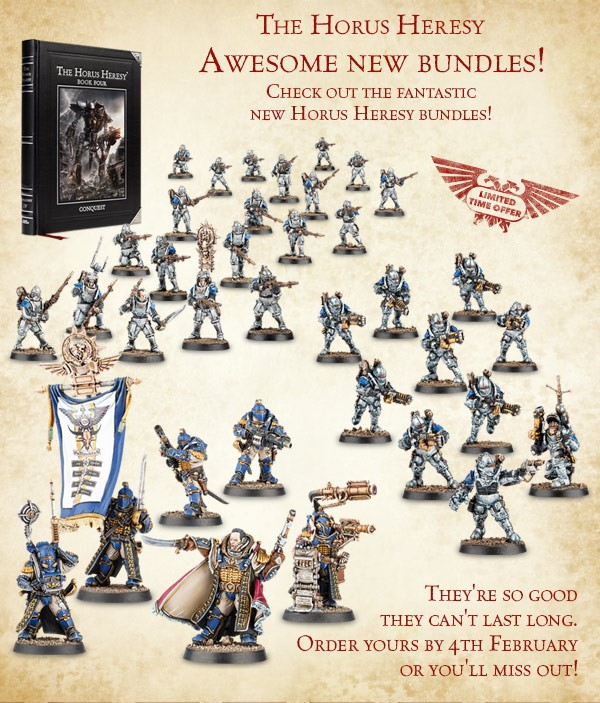 New Bundles and Slides/Etchings Available From Forge World