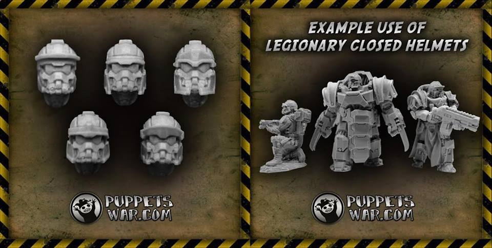 Legionary Closed Helmets
