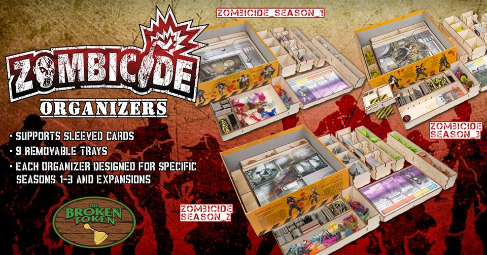 Zombicide Containers