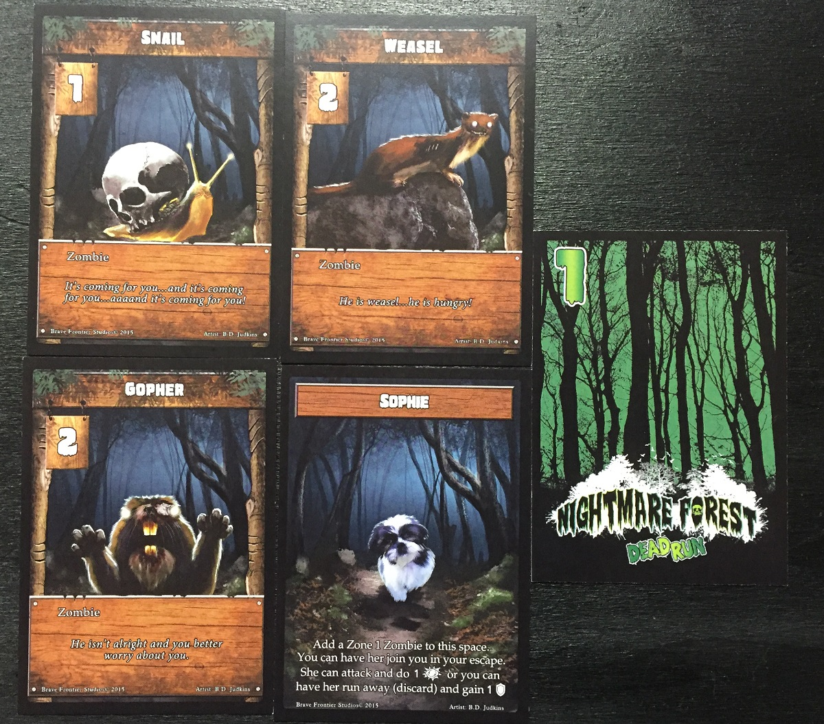 Zombie-Blasting Merit Badges: A Review of Nightmare Forest