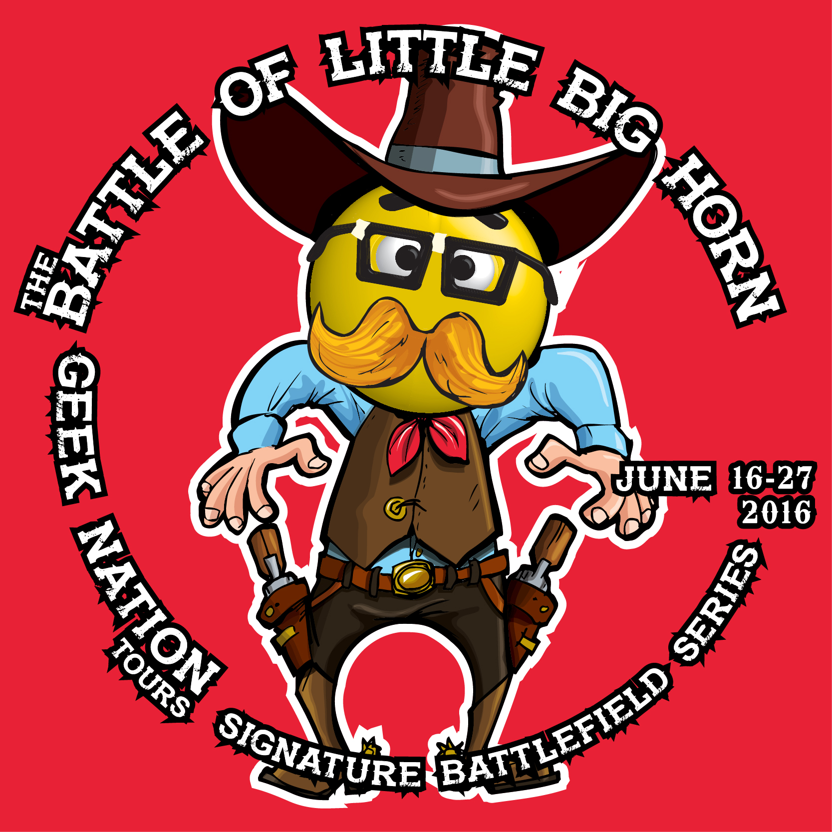 geek nation - battle for little big horn - 400x400