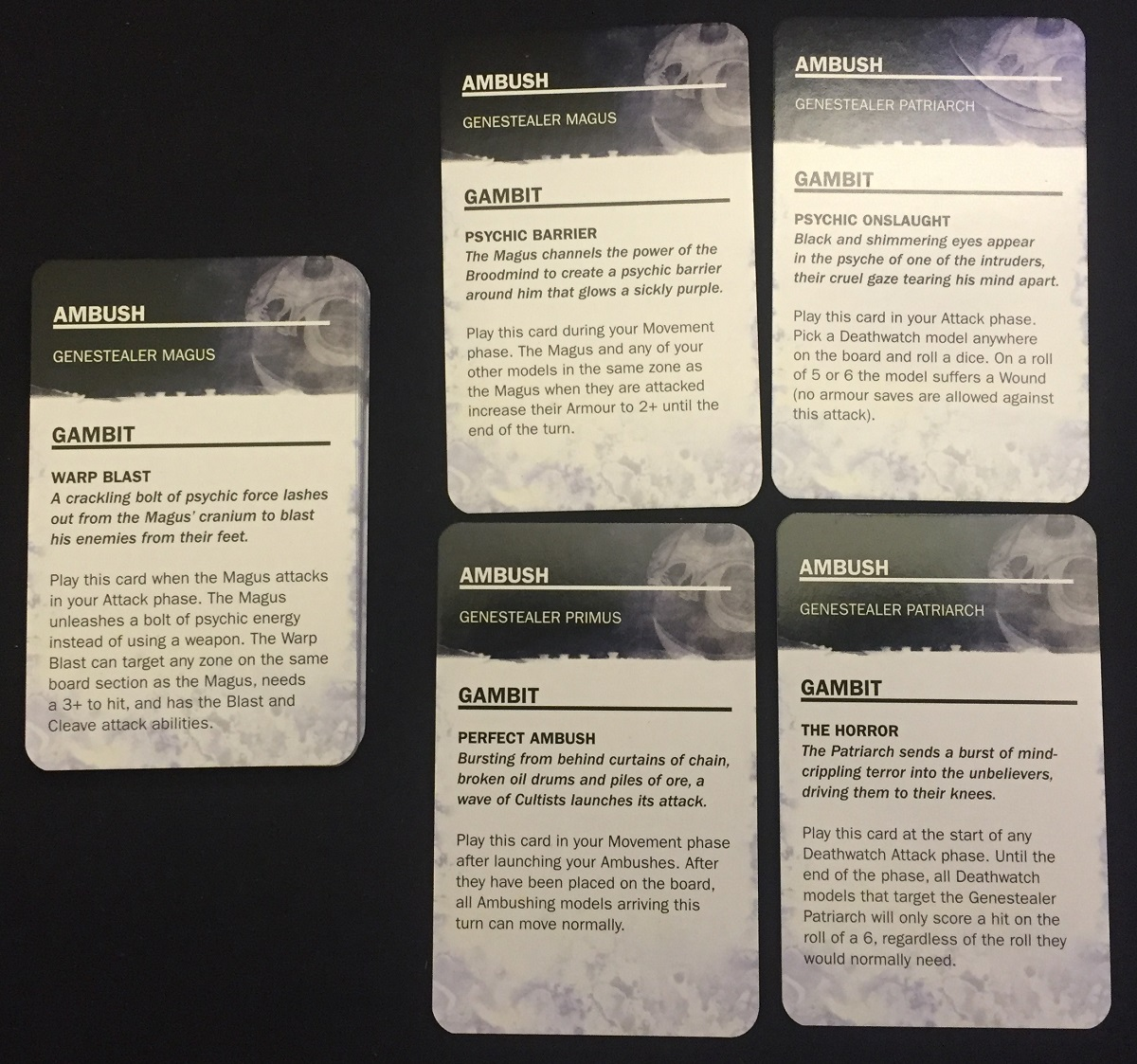 Broodmind Cards