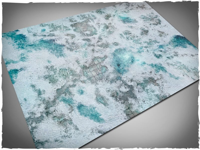 Frost-grave gaming mat