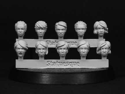 Pulp Scale Female Heads