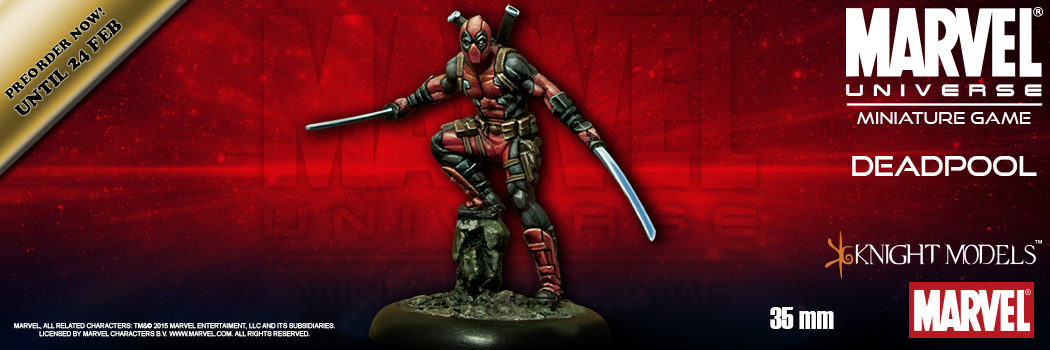 Marvel Universe Miniatures Game Available For Pre-Order
