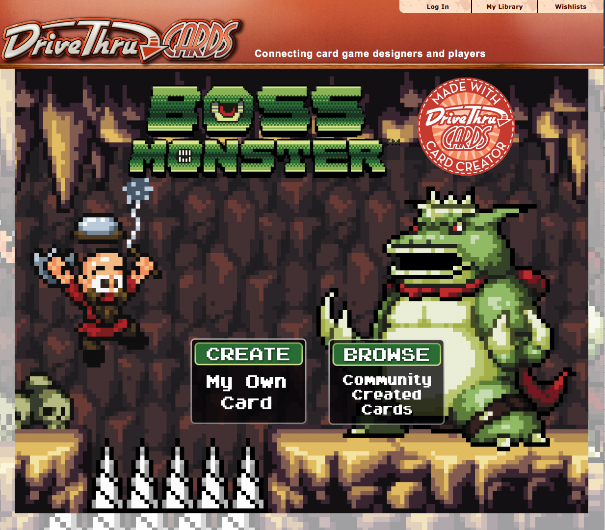 custom boss monster card creator now available tabletop gaming