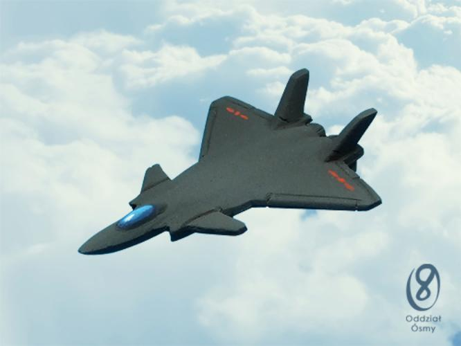 CH-629 J-20 (6 pcs) Chinese stealth fighter (prototype)