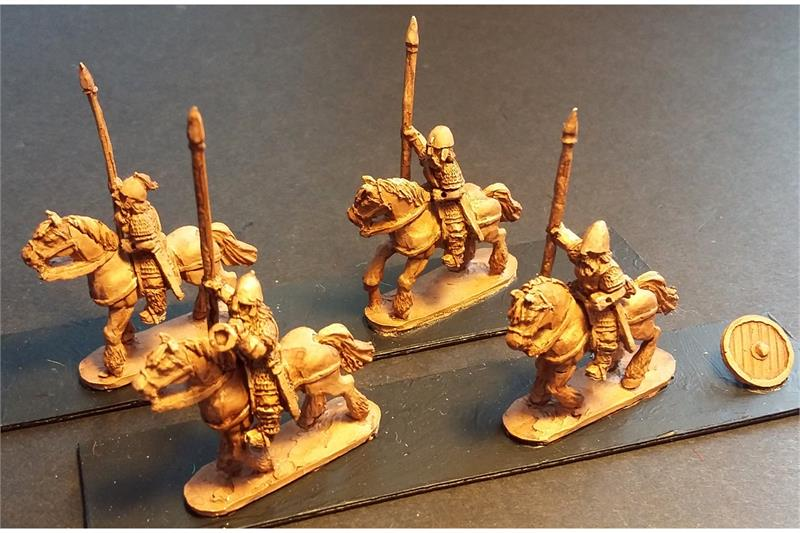 Frigian Cavalry on Unarmored Horse