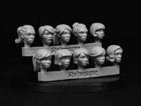 Heroic Scale Female Heads 2