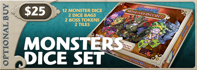 Monsters Dice Set