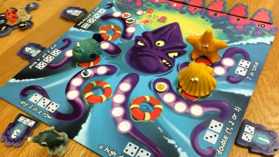 Poseidon's Kingdom Board Game review Kraken Tracken
