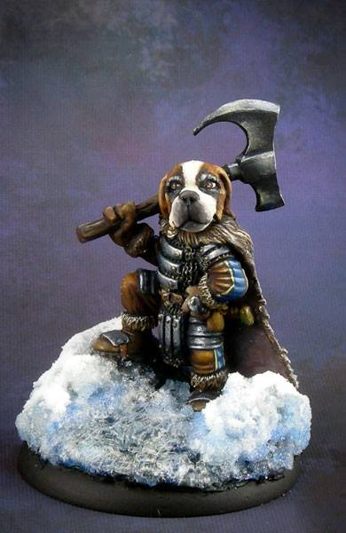 St. Bernard Warrior