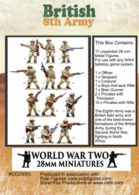 8th Army Box Back