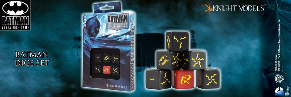Batman Dice