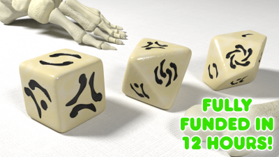 Bone Origins Polyhedral Dice