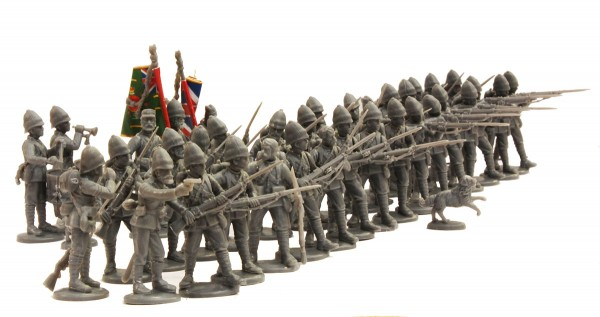 New British Infantry 1877-1885 For Black Powder - Tabletop