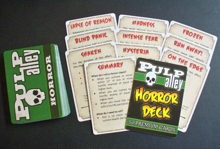 The Pulp Alley Horror Deck