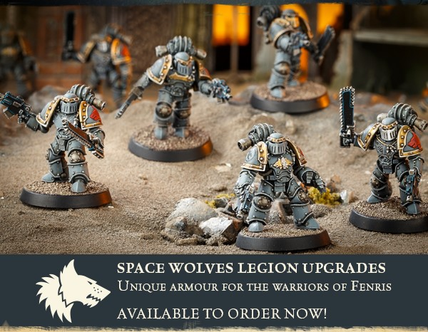 New Space Wolf Upgrade Kits Available From Forge World - Tabletop
