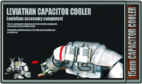 15mm Capacitor Cooler Front Decal 100mm X 170mm
