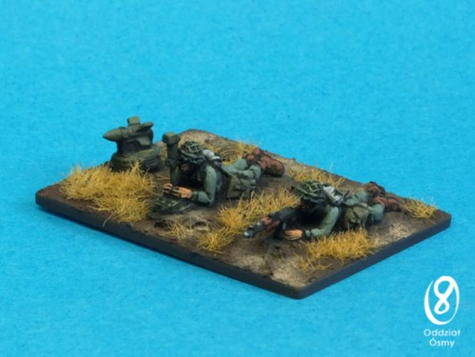 CW-1505 Polish CW Infantry - AT-3 Sagger (6 pcs) ATGM teams - includes 4 men and 2 launchers