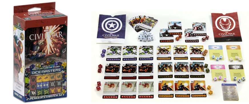 Civil War Dice Masters